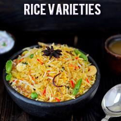 Rice Varieties Recipes