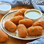 Veg Cutlet Recipe | How to make Vegetable Cutlet
