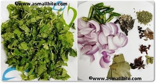 Chettinad Mushroom Biryani Recipe Steps2