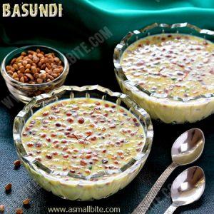 How to make Basundi 1