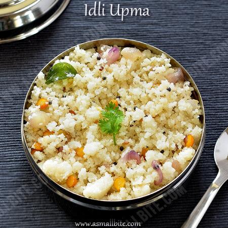 Idli Upma Recipe 1