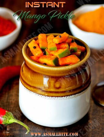 Instant Mango Pickle Recipe 1