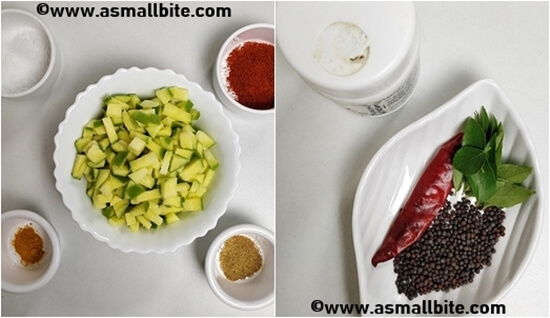 Instant Mango Pickle Recipe Steps1