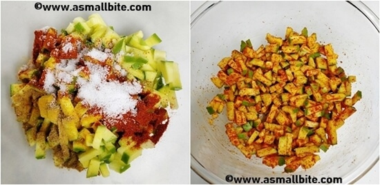 Instant Mango Pickle Recipe Steps2