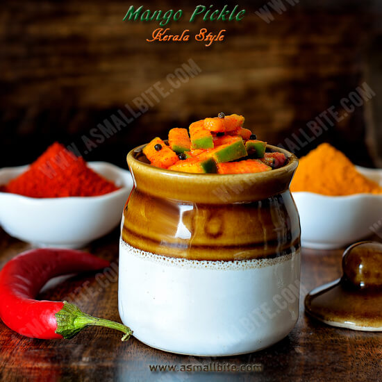 Mango Pickle Kerala Style