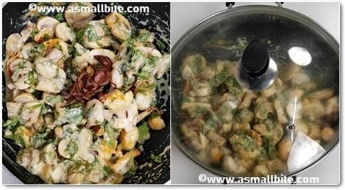 Mushroom Biryani Recipe Steps5
