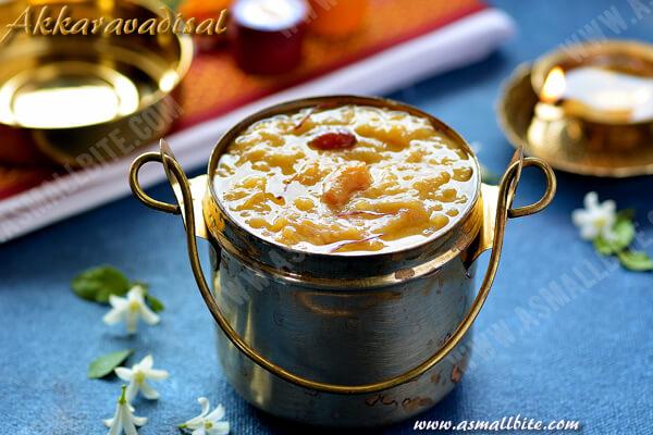 Akkara Adisil Recipe 1