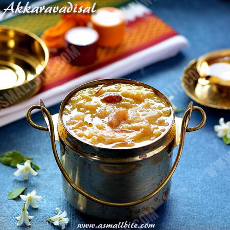 Akkaravadisal Recipe 1