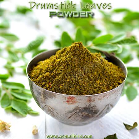 Drumstick Leaves Powder Recipe