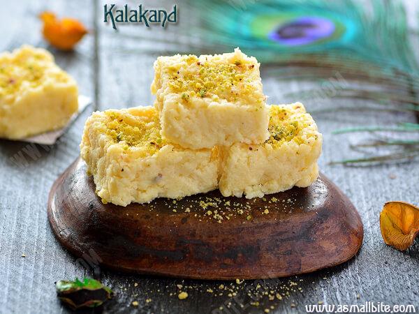 Instant Kalakand Recipe 1