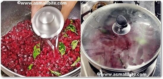 Kerala Beetroot Thoran Recipe Steps4