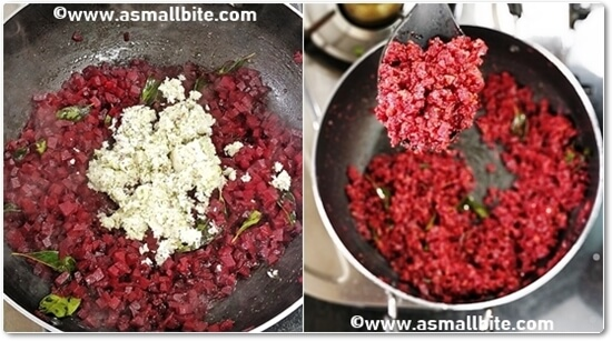 Kerala Beetroot Thoran Recipe Steps5