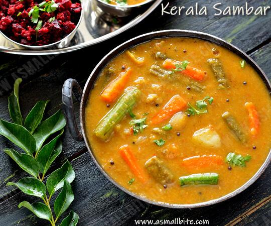 Kerala Sambar Recipe 1