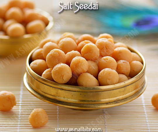 Salt Seedai Recipe 1