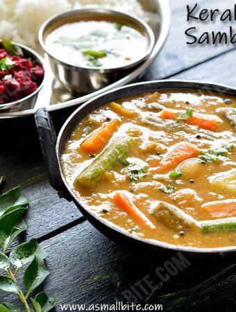 Kerala Sambar Recipe | Sambar Kerala Style
