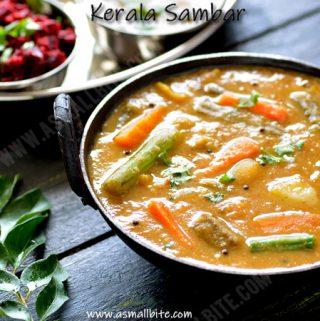 Sambar Kerala Style