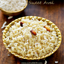 Sweet Aval Janmastami Recipes