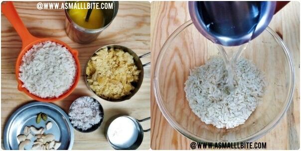 Sweet Poha Recipe Steps1