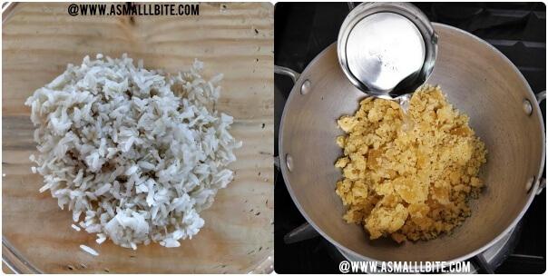 Sweet Poha Recipe Steps2