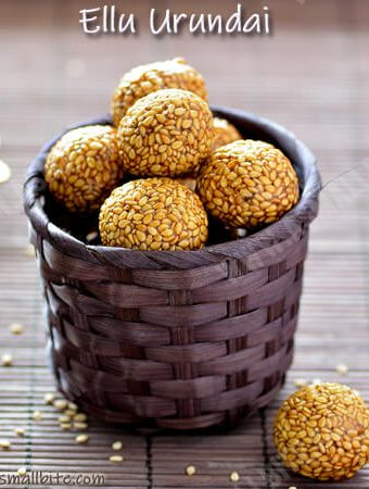 Ellu Urundai Recipe | Sesame Laddu Recipe