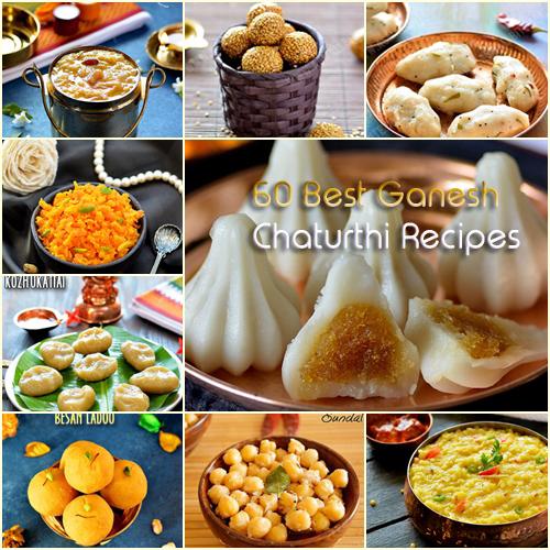 Ganesh Chaturthi 2018 Recipes