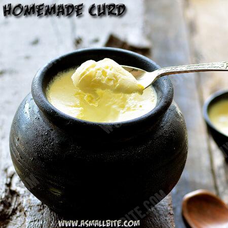 Homemade Curd Recipe 1