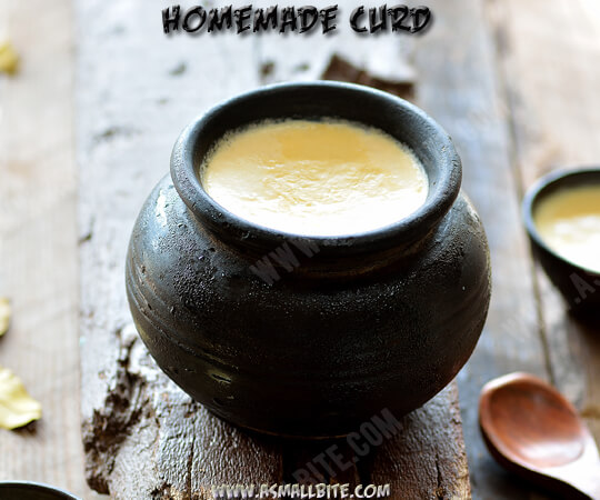 How to make curd at home 1