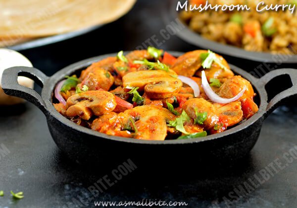 Mushroom Curry Recipe 1