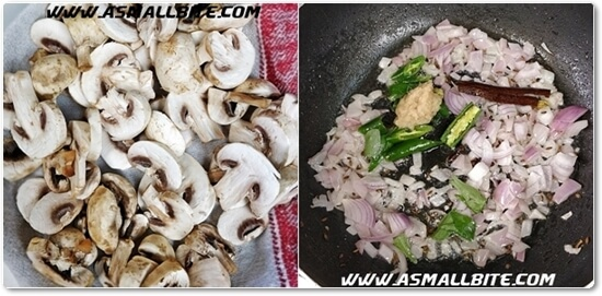 Mushroom Curry Recipe Steps2