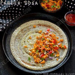 Paneer Dosa Recipe 1