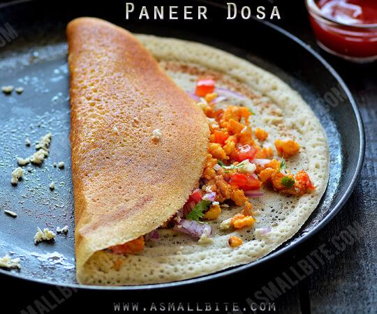 Saravana Bhavan Paneer Dosa Recipe 1