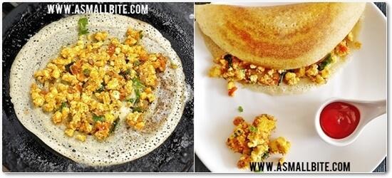Saravana Bhavan Paneer Dosa Recipe Steps8