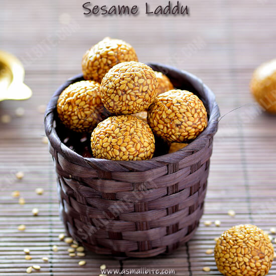 Sesame Laddu Recipe