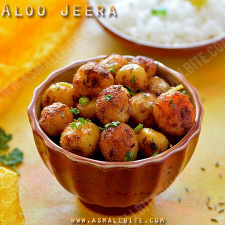 Aloo Jeera Recipe 1
