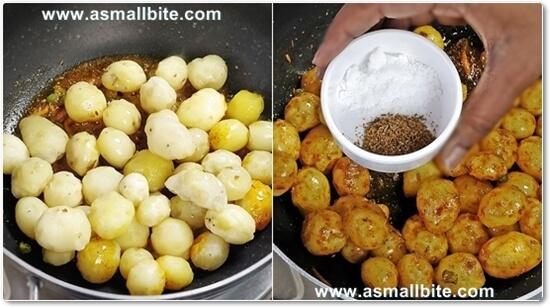 Aloo Jeera Recipe Steps4