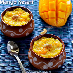Mango Kesari Diwali Sweets Recipes
