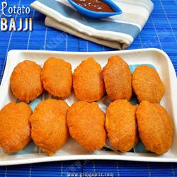 Potato Bajji Diwali Snacks Recipes
