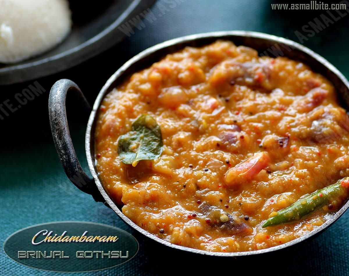 Chidambaram Brinjal Gothsu Recipe