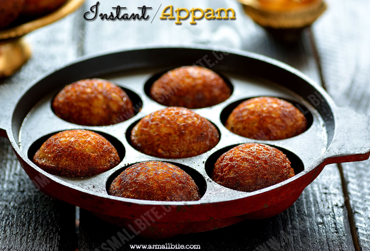 How to make Instant Appam