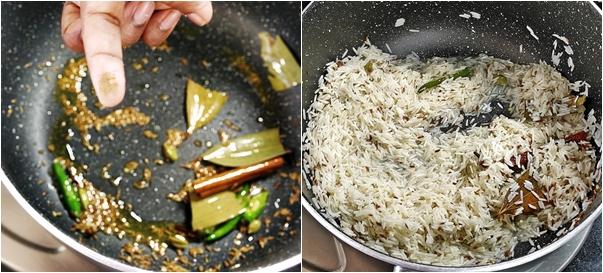 How to make Jeera Rice Step3