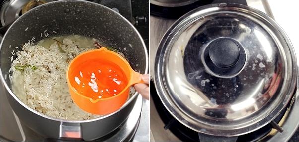 How to make Jeera Rice Step4