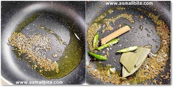 Jeera Rice Recipe Step2