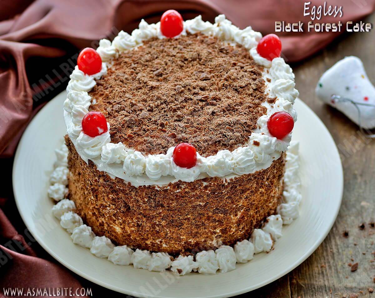 Eggless Black Forest Cake Recipe 3