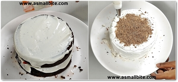 Eggless Black Forest Cake Recipe Steps9