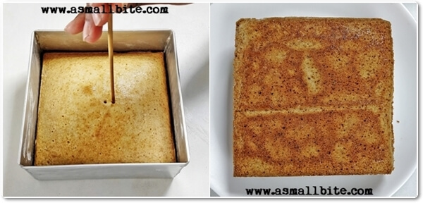 Eggless Vanilla Pastry Cake Recipe Steps5