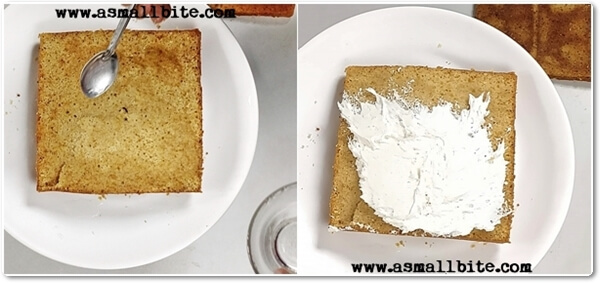 Eggless Vanilla Pastry Cake Recipe Steps6