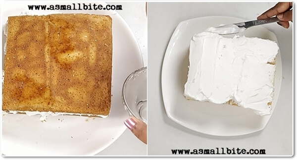 Eggless Vanilla Pastry Cake Recipe Steps7
