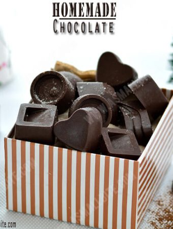 Homemade Chocolate Recipe