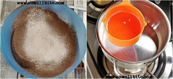 How to make homemade Chocolate Steps2