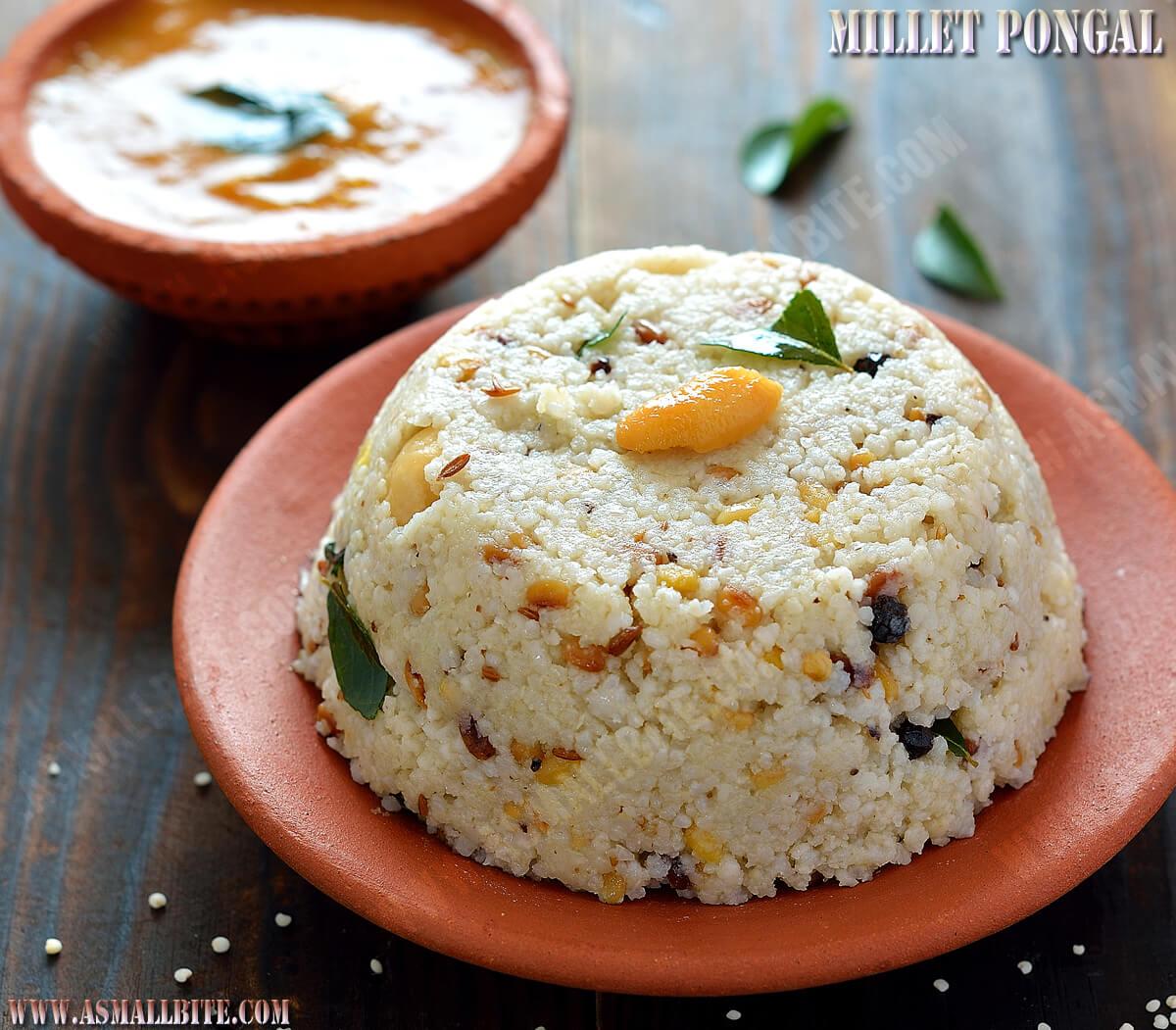 Millet Pongal Recipe